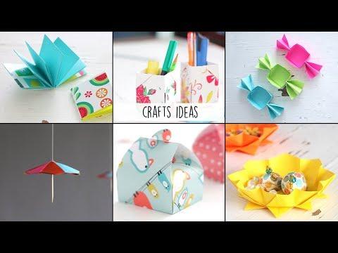 6 Easy Craft Ideas  Ventuno Art  Useful Things