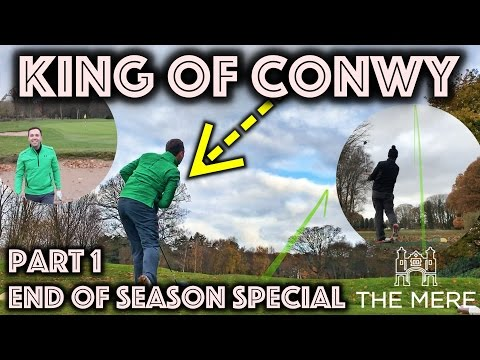 KING OF CONWY! End of season special! Part 1 at The Mere