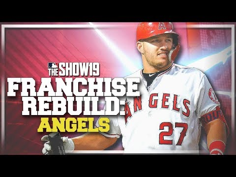 REBUILDING THE LOS ANGELES ANGELS! | MLB the Show 19 Franchise Rebuild