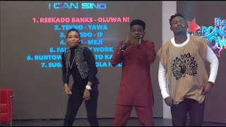 THE OGBONGE SHOW-Efe, kennyblaq, May Ikeora, Kaffy, Mc-shaggi and Ada on