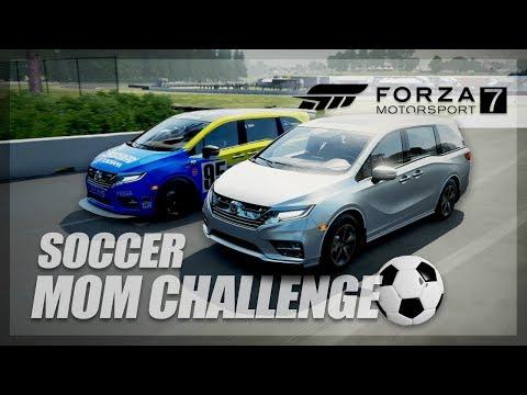 Forza Motorsport 7 - SOCCER MOM CHALLENGE!!