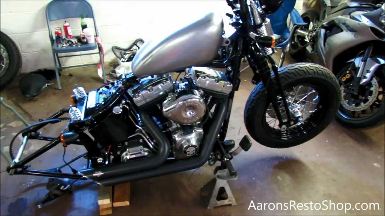 Harley Davidson 2001 Sportster Wiring Diagram 96 Quot Twin Cam Efi To Carburetor Conversion Update 1 18 13 Aaron S Resto Shop Youtube 1997