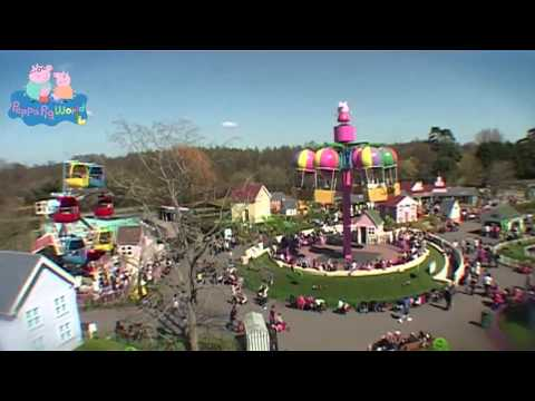 Peppa Pig World Theme Park Official Video Youtube
