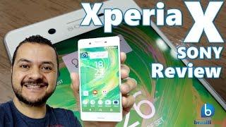 xperia x smartphone compacto com acabamento em metal da sony review em portugus