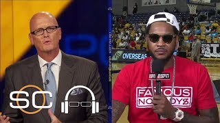 Carmelo Anthony Reveals Where He