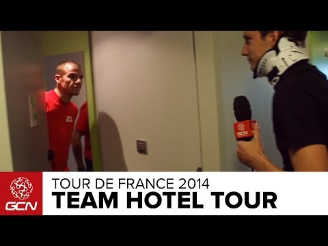 Inside A Tour De France Team Hotel With Lotto-Belisol And Sky