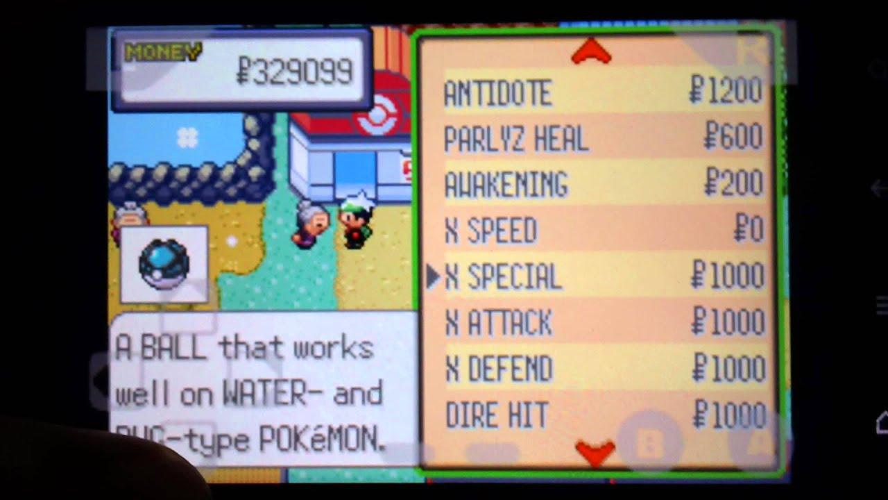 John gba lite gameshark pokemon emerald gamesworld - Pokemon for john gba lite ...
