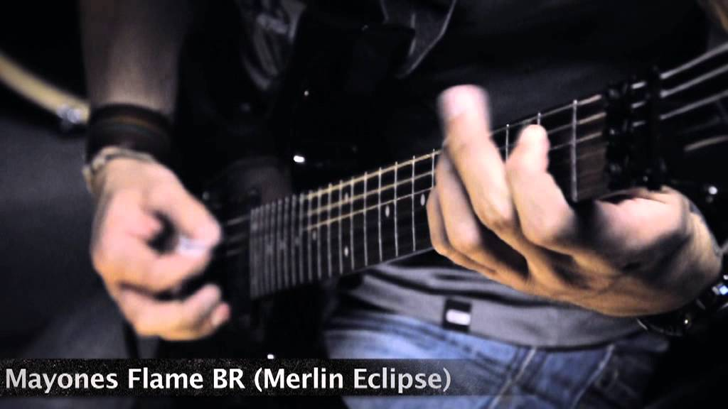 SickNest - Guitar sound test (EMG 81, Seymour Duncan Blackouts AHB-1,  Merlin Eclipse)