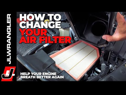 Help Your Jeep JL WRANGLER Breathe Better Again – DIY AIR FILTER REPLACEMENT