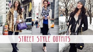 Street Style Look Book | 3 New York Fashion Week Outfits | Cassandra Bankson