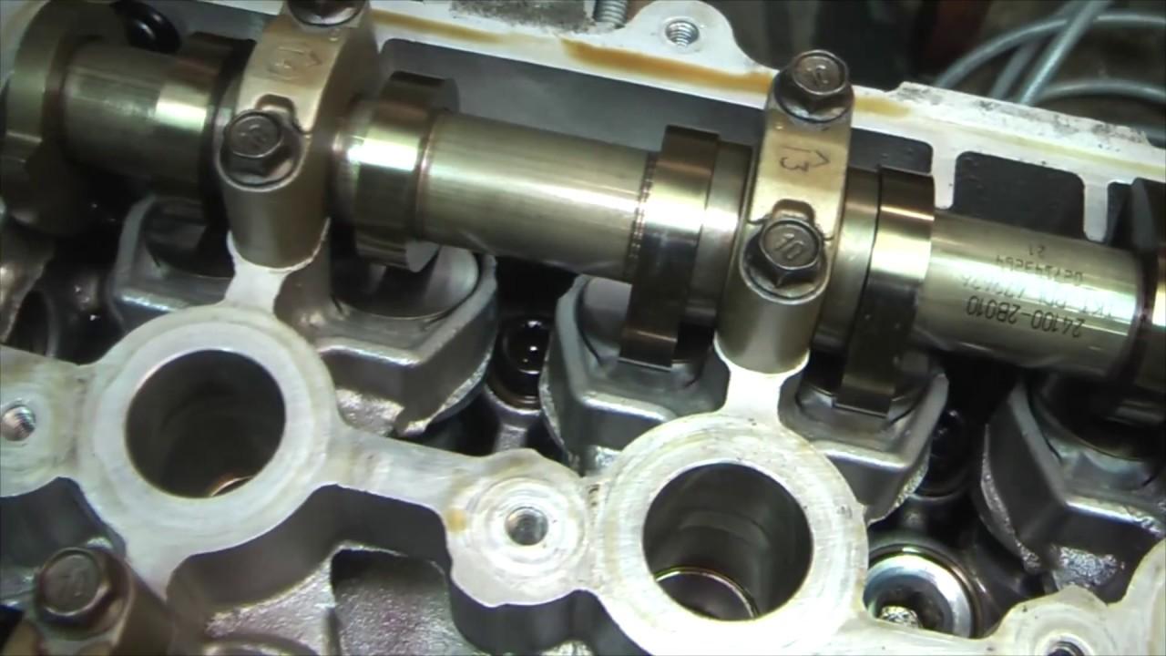 Замена головки блока цилиндров киа рио 4 Замена клапанной прокладки фабии