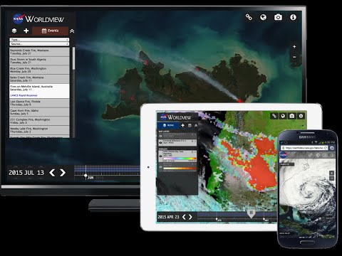 Earthdata Webinar: Explore the Entire Earth, Every Day, with Satellite Imagery from NASA Worldview