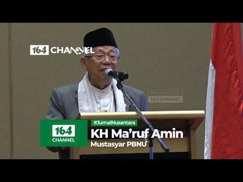 Hadiri Pengukuhan ISNU, KH Ma'ruf Amin Ingatkan Tugas Utama NU