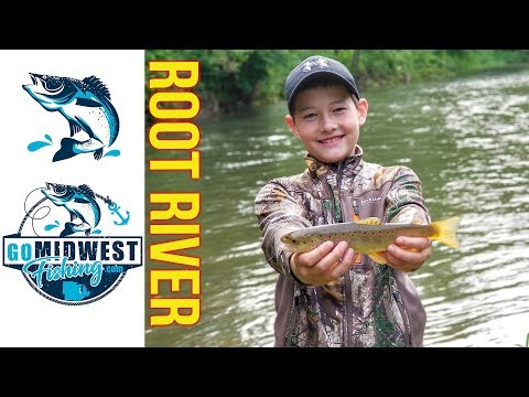 Trout Fishing The Root River At Forestville/Mystery Cave: June 16th