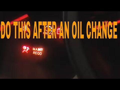 How to reset maint reqd light on toyota maintenance for Honda crv wrench light