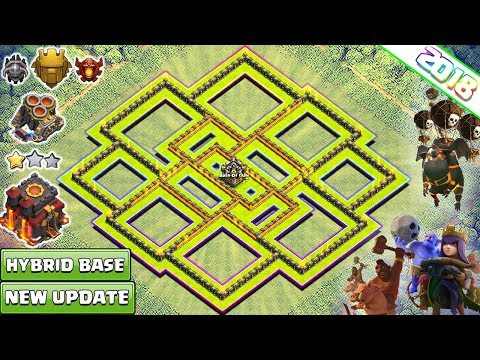 NEW TH10 Base 2018 | New Town Hall 10 Trophy/Farming Base | Anti Everything | Clash of Clans 2018