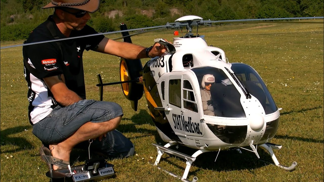 What is so special about RC-helicopters? Part1