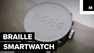 Braille smartwatch for the visually impaired