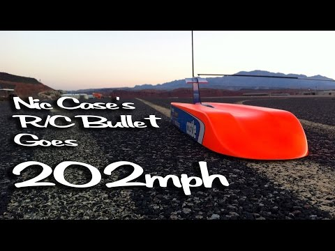 The First Radio Controlled Car to Achieve 200mph - Nic Case