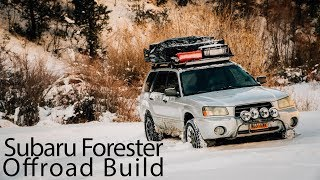 Subaru Forester Offroad Build
