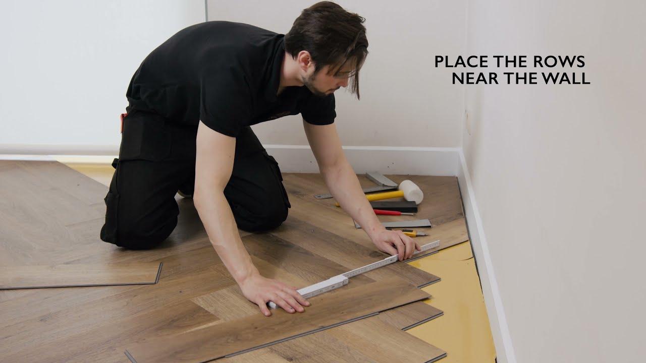 Vinyl Flooring In Herringbone Pattern, Liquid Nails Laminate Flooring
