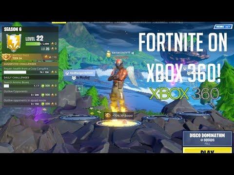 Fortnite On Xbox 360
