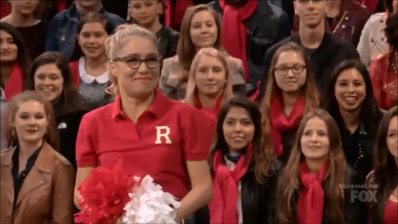 Download Grease Live Cheerleading Tryouts Scene