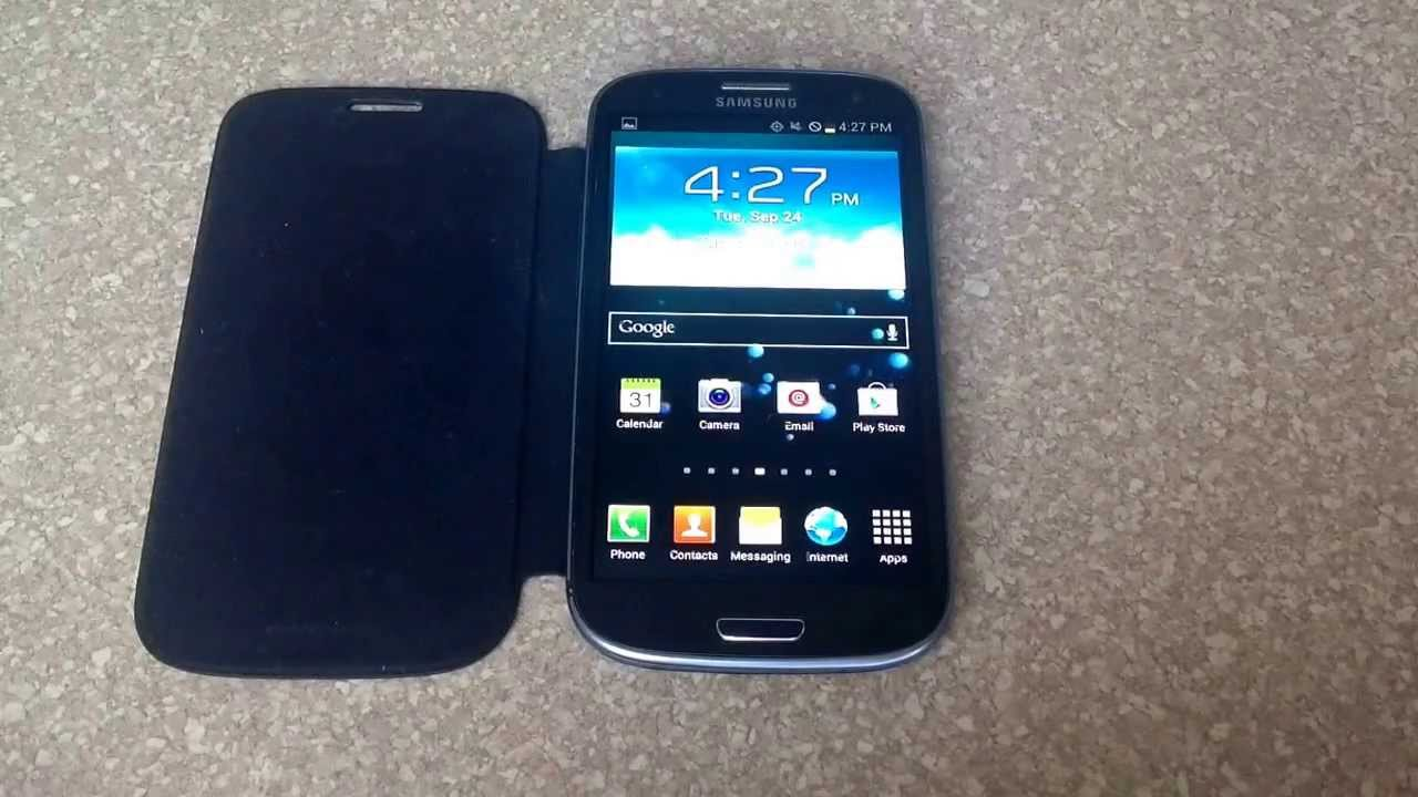 galaxy s3 how to turn on