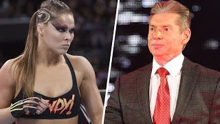 Update On Ronda Rousey's WWE Future, Vince McMahon Fears AEW? + More