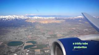 Rare Rwy 17 Takeoff from SLC