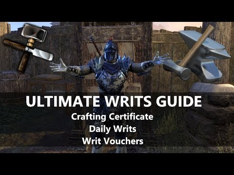 ESO l Ultimate Writs Guide! All you need to know!