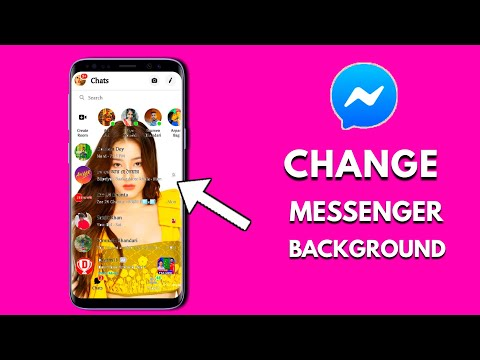 How to add a picture at messenger home screen