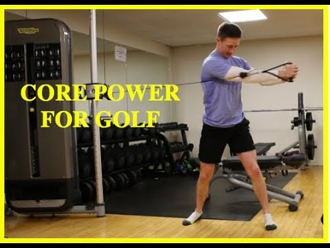 CORE POWER IDEAS FOR GOLF