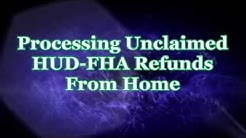 Home based Income   Unclaimed Mortgage Insurance Refunds   First Step: How To Find People
