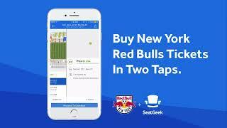 New York Red Bulls SeatGeek App Demo