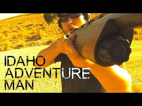 Hunting Jack Rabbits in Tooele County Utah w/ SX3! GoPro Action!