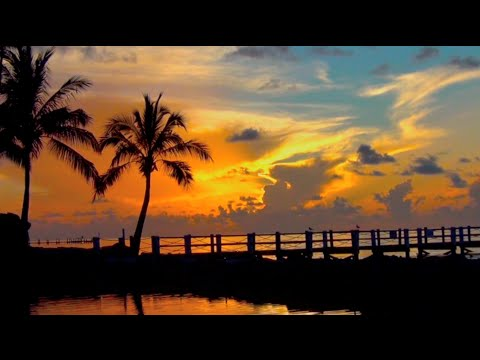 BEAUTIFUL SUNRISE in the FLORIDA KEYS set to relaxing music:) Time Lapse HD