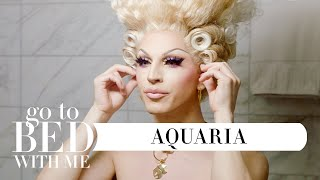 RuPaul's Drag Race Star Aquarias Nighttime Skincare Routine | Go To Bed With Me | Harpers BAZAAR YouTube Videos