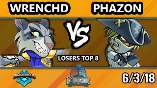 DHATX18 Brawlhalla - WC | wrenchd Vs. Phazon - Losers Top 8