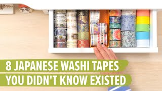 8 Japanese Washi Tapes You Didn't Know Existed: Part 1
