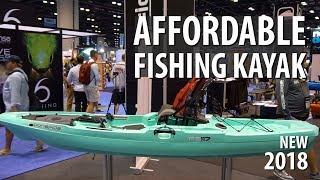 NEW Bonafide RS 117 Fishing Kayak UNDER $1000 | ICAST 2018
