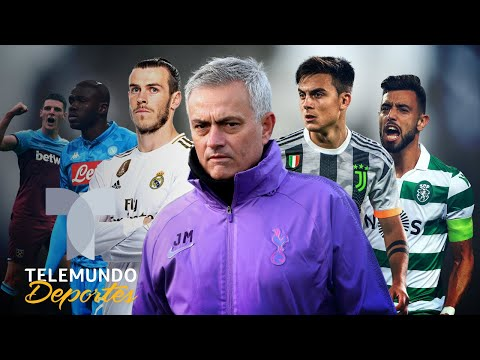 Bale y las otras bombas que podría fichar Mourinho para el Tottenham | Telemundo Deportes