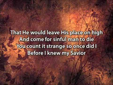 My Savior My God - Aaron Shust (with lyrics).