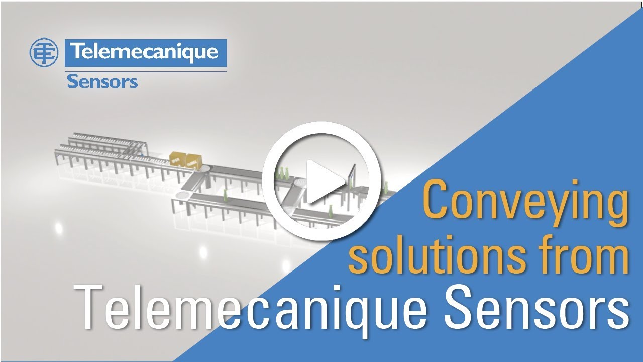 Telemecanique Sensor Wiring Diagram Conveying Solutions From Sensors Youtube Siemens