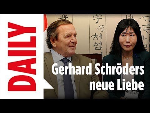 gerhard schr der hat eine neue liebe bild daily live youtube. Black Bedroom Furniture Sets. Home Design Ideas