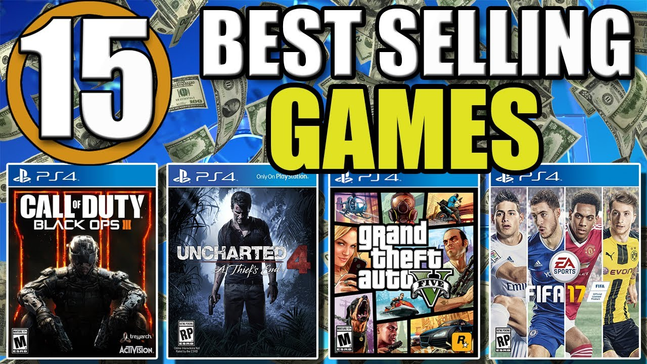 top 15 best selling ps4 games of all time youtube. Black Bedroom Furniture Sets. Home Design Ideas