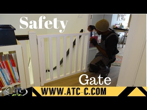 Kids safety gate // DIY // How to
