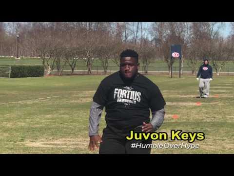 Juvon Keys 2018 DT Northeast Jones High School