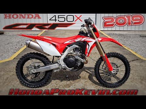 2019 Honda CRF450X Walk-Around (4K)   CRF 450 Dirt Bike / Off-Road Motorcycle