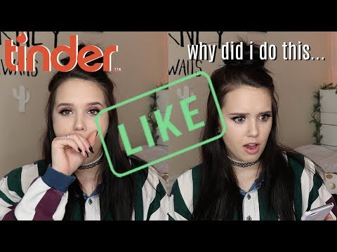 I SWIPED RIGHT TO EVERY GUY ON TINDER | *things got interesting*